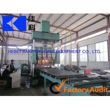 Línea de productos automática máquina de rejillas de acero de la calzada