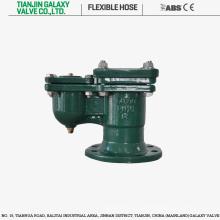 Válvula redutora de ar de orifício duplo com flange duplo