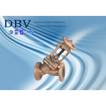 PTFE Rubber Seated Globe Valve with Ce Approval