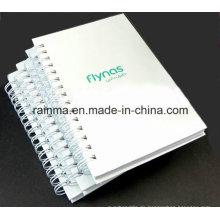 A5 White Cover Spiral Notebook für Werbegeschenk