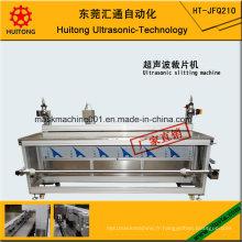 Machine de découpe ultrasonique semi-automatique