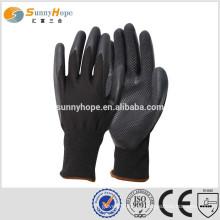 Sunnyhope 13gauge Latex Diamant auf Palme Stricken Muster Mann Handschuhe