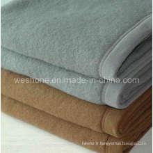 Couverture de couverture, couverture de 100 % de laine, laine Wb-0605fr