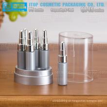 QB-ES07 7 ml x 6 cabelo facial óleo essencial spa produtos conta-gotas frasco plástico PE essência garrafa coleção