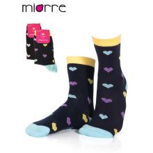 Подгонянный Miorre ОЕМ женские моды красочные хлопок носки 2 цветов