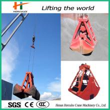 Hydraulic Rotating Stone Grab with Operating Flexibility