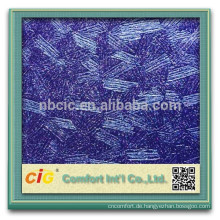 Dekorative Tapete PVCs / dekoratives Leder PVCs mit metallischem