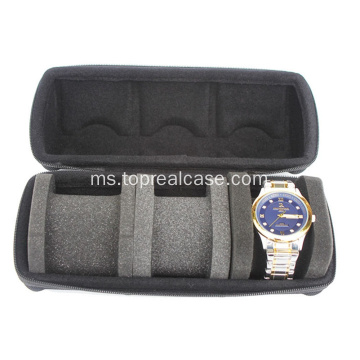 Watch Case For Three Watches