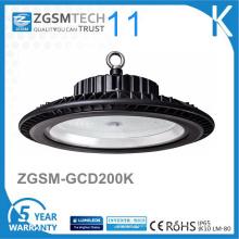 UFO Design 125lm / W IP65 LED High Bay Light 200W