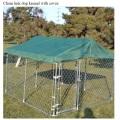Metal Fence Dog Cage