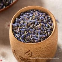 Chá de flores secas de lavanda natural
