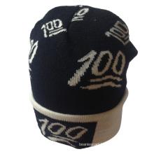 Classic Style Wholesale Unisex Acrylic New Fashion Boy and Girls Wool Knit Beanie Hat