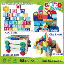122pcs Alphabet Learning Kids Preschool Blocks, Fun Play Big Preschool Blocks