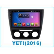 Android coche DVD pantalla táctil para Yeti con coche GPS / navegación de coche