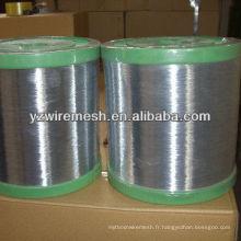 Matériau en maille de fer 0.28mm pour le marché de la Corée du Sud Fil de fer galvanisé à chaud