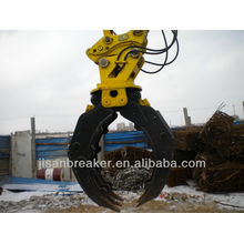 Grappin hydraulique TAKEUCHI TB1135 TB1140, grappin de fixation de pelle, grappin à bois
