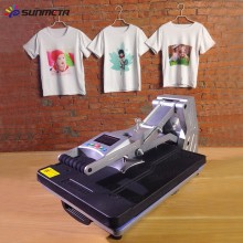 Sunmeta Automatische Heat Press Machine für T-Shirt