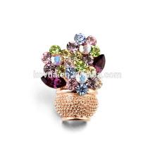 Bijoux broche magneïtique à cristal à bas prix élégant et élégant