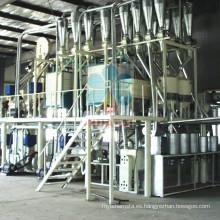 Máquina de procesamiento de aceite de maíz y harina de maíz