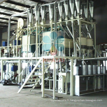 Machine de traitement de farine de maïs et d'huile de maïs
