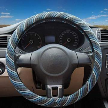 Car accessories real madrid car steering wheel cover