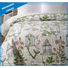 British Pavilion Printed Polyester Quilted Bedspread Set
