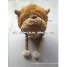 New designed lovely plush animal hat