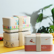 Bamboo Food Container Lunch Box Regalos