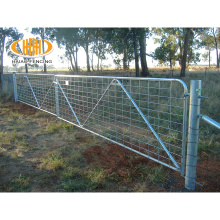 Factory sale hot dipped galvanized farm fence and gate
