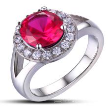 Bague de mariage en bijoux en acier inoxydable