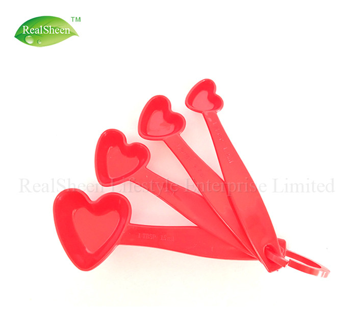 Heart Shape Measuring Spoons