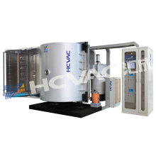 Machine élevée de revêtement à vide d'évaporation en aluminium pour le verre en plastique
