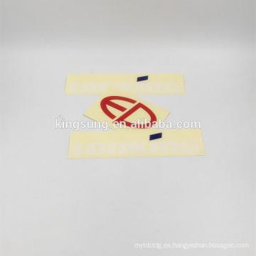 etiqueta engomada muerta transparente del cuerpo del coche del vinilo del corte del diseño libre