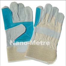 NMSAFETY cow leather safety gloves for men