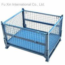 Almacenamiento fijos y apilables plataforma contenedor jaula