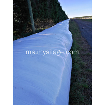 Lebar Rolling Plastic Silage Green Width750mm