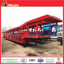 Auto-Träger-halb LKW-Anhänger für das Laden 6-12cars