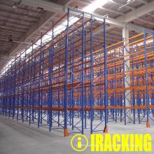 Estante para paletes para aplicações pesadas de armazenamento industrial (IRA)