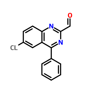 5958-05-4 6-chloro-4-phenyl quinazoline-2-carbaldehyde, Impurity C of the PhEur of oxazepam