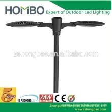 Super 2015 hot Bridgelux chip galvanized 100w 277v garden pole led light