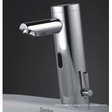 Robinet infrarouge automatique de sonde / robinet de mélangeur avec l'eau chaude et froide (QH0106A)