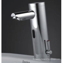 Automatic Infrared Sensor Faucet/Mixer Tap with Hot and Cold Water (QH0106A)