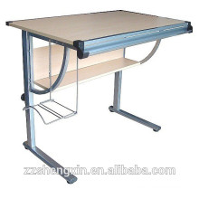 Modern Metal Frame MDF Adjustable Drawing Table