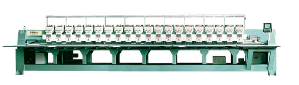 Industrial Computerized Embroidery Machine 8 head 15Needle