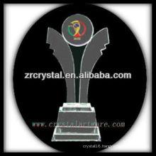 attractive design blank crystal trophy X021
