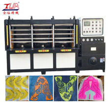 Kestabilan KPU Shoes Skin Vamp Pressing Machine