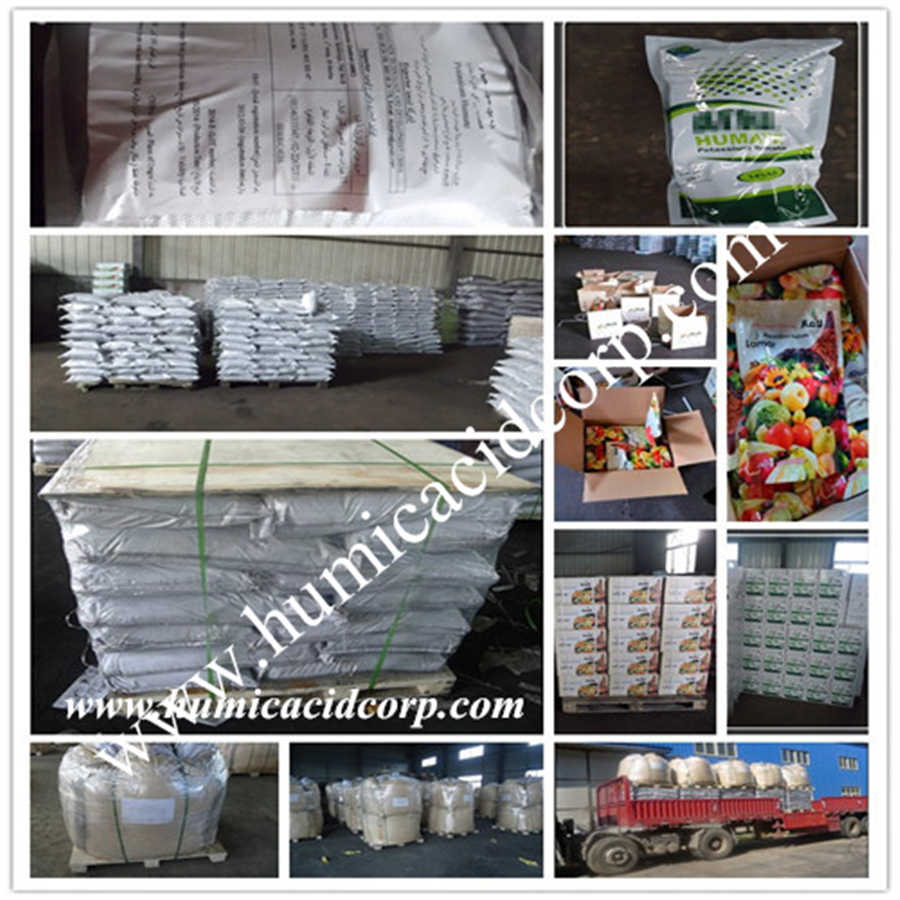 Humic acid packing