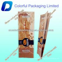 Embalagem para café torrado com válvula / Reciclado saco para embalagem de café / folha laminada para café
