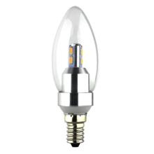 2 ans de garantie Dimmable LED bougie LED ampoule