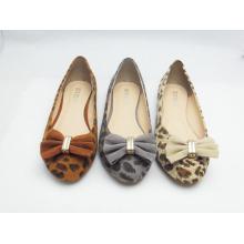Neue Stil Frauen Kleid flache Schuhe (HCY03-129)